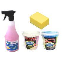 Lava Seco - Kit Profissional
