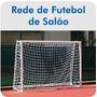 Rede De Futebol Salão Futsal 3,20x2,20travedegol - Fio 2-par