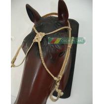 Cabeçada Trançada Couro Em X ( Cavalo Mula)