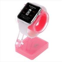 Suporte Carregador De Plástico P Apple Watch E Celulares