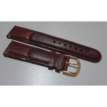 Pulseira 20mm Couro Relógios - Seiko Casio Dk Fossil Ea
