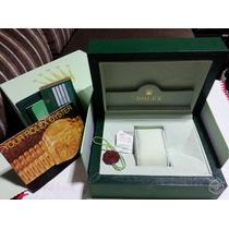 Caixa Da Rolex Modelo 2014 Completa Nova A Pronta Entrega
