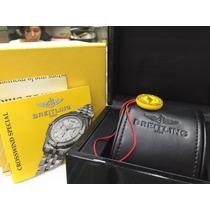 Box Estojo Caixa Breitling Completo Com Manual