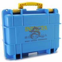 Caixa Relógio Invicta Original Maleta 8 Slots Mergulho Azul