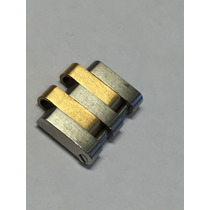 Elo Link Rolex Datejust Oyster Quartz Aço E Ouro Raro Orig