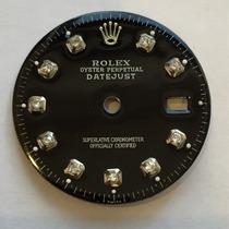 Mostrador Rolex Datejust Customizado Com Diamantes 16200