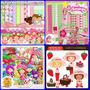 7 Kits Scrapbook Digital Moranguinho E Moranguinho Baby