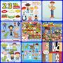 9 Kits Scrapbook Digital Toystory - Frete Gratis