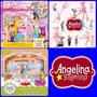 03 Kits Scrapbook Digital Angelina Bailarina Frete Gratis