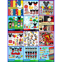 11 Kits Scrapbook Digital Mickey Casa Do Mickey-frete Gratis