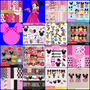 15 Kits Scrapbook Digital Minnie Rosa -frete Gratis
