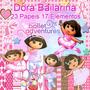 Scrapbook Digital Dora Bailarina Frete Gratis