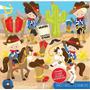 Kit Scrapbook Digital Cowboy Vaqueiro 3 Imagens Clipart