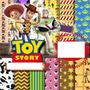 Kit Scrapbook Digital Toy Story