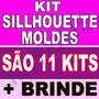 350 Moldes De Caixas + Kit Completo Sillhouette Moldes P/ Co