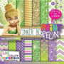 Kit Papel Scrapbook Digital Tinker Bell - Ml24