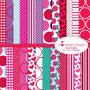 Kit Scrapbook Digital Papéis Dia Dos Namorados 5