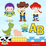 Kit Scrapbook Digital Toy Story Imagens Clipart