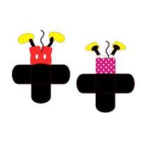 Kit De Recorte Festa Mickey E Minnie Para Silhouette