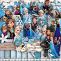 Kit Scrapbook Digital Frozen Completo Vetor Png Silhouette