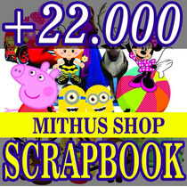 Kit Carrossel Cupcake Silhouete + +22 Mil Arquivos Scrapbook