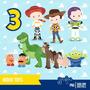 Kit Scrapbook Digital Toy Story 2 Imagens Clipart