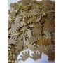 100 Apliques Princesa Recortes Coroa Eva 3,5cm Glitter