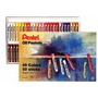 Giz Pastel Oleoso Phn-50 Pentel 50 Cores
