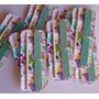 Kit Mini Lixa E Palito Com Cartela Personalizada (50 Unid)