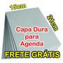 12 Capas Duras Papel Paraná Agendas E Cadernos Frete Grátis