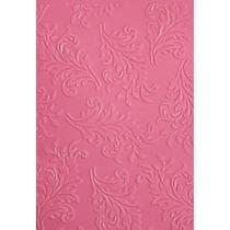 Placa Para Textura 10,5x15cm Sizzix Boutique Arabesco Iv