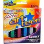 Tinta Relevo Dimensional C/6 Cores Glitter 20ml Acrilex