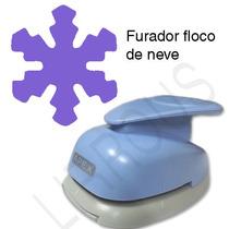Furador Scrapbook Floco De Neve Corte 5cm