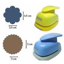 Kit Furador Círculo Escalope 5cm + Círculo Escalope 3,5cm