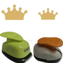 Furadores Coroa Da Princesa Corte 2,5cm E 1,5cm Festa Papel