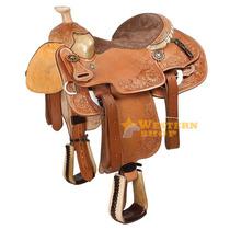 Sela Laço Em Dupla Profissional Top - Pro Horse Frete Grátis