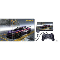 Pelicula Protetora Skin P/ Playstation 2 Ps2 +de 200 Modelos