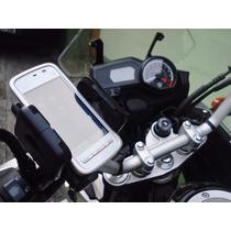 Suporte Bicicleta Bike Moto Cg Cargo Samsung Iphone Gps Lg