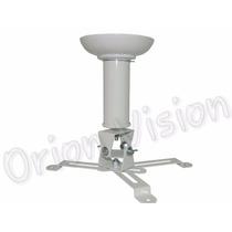 Suporte Projetor Branco Teto Epson Optoma Benq Sony Lg Dell