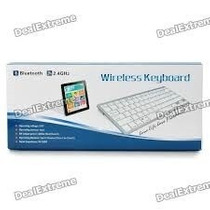 Teclado Bluetooth Wireless Keyboard - Apple E Android