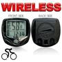 Ciclocomputador Wireless 8 Funções A Prova D