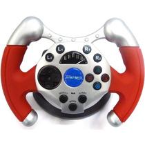 Volante Dual Shock Racing Na Caixa - Ps3 , É Ps2