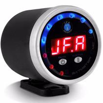 Voltimetro Digital Jfa Mat Meter Automotivo Display Vermelho