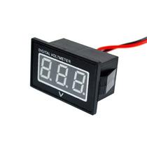 Voltímetro Digital À Prova Dágua Para Moto - Medidor Bateria