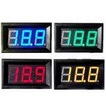 Voltímetro Digital Remote 0~100v Bateria Som Frete 10,00