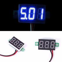 Mini Voltímetro Digital-medidor De Baterias