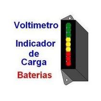 Voltímetro / Indicador Carga De Baterias