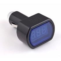 Voltímetro Digital Automotivo Medidor De Voltagem Da Bateria