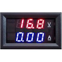 Voltímetro Amperímetro Dc 0~100+ 0~50 A + Shunt Led Digital