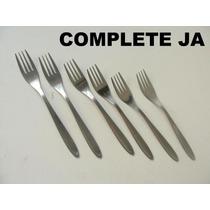 Jg 6 Garfos De Sobremesa Em Aço Inox Hercules Cchic E.gratis